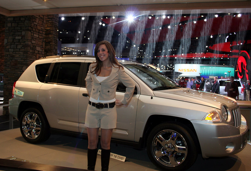Jeep Autoshow Spokesperson from Gail-Rice