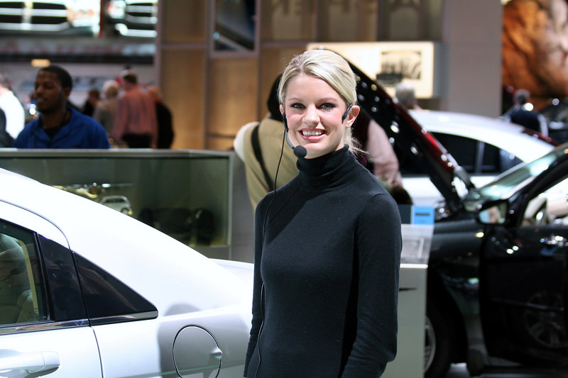 Chrysler Autoshow Spokesperson from Gail-Rice