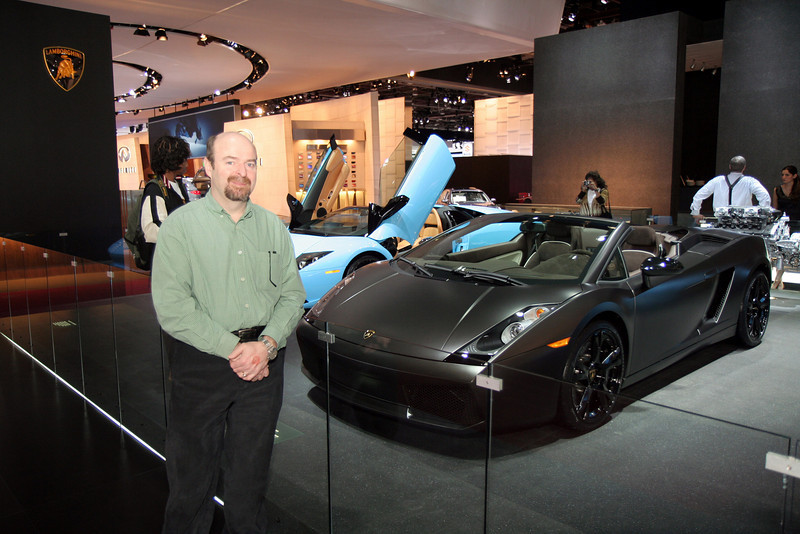 Uncle G with Lambo