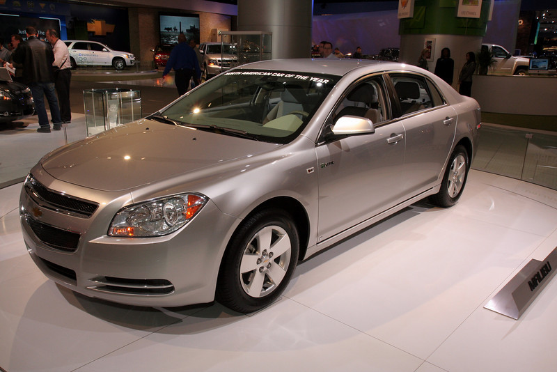 Chevy Malibu Car of the Year