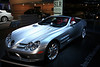 "Mercedes Benz SLR McLaren Roadster<br /> Sticker Price $495,000<br /> ""Daimlers are a girls best friend..."""