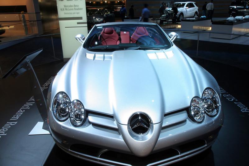"Mercedes Benz SLR McLaren Roadster<br /> Sticker Price $495,000<br /> ""Daimlers are a girls best friend..."""