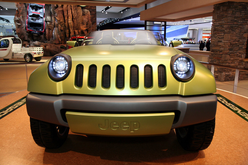 Jeep Renegade Concept Car