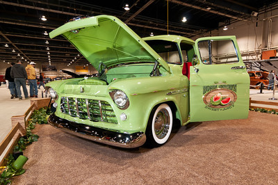 Gary and Flo Garman's 1955 Chevy Truck