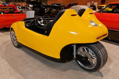 Skip Miller's Custom 1988 Honda CRX 3-wheeler