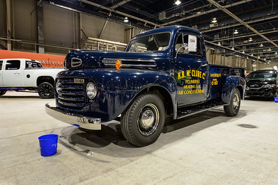 Robert F McClure's 1950 Ford 3/4-ton Pick-up