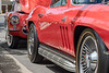 """Corvettes at the 37th Annual """"A Legend on Display"""" in Danville, CA. Sunday, April 23, 2017"""