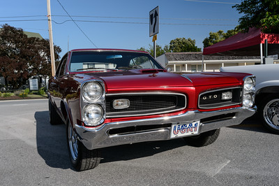 John and Theresa Shirley's 1966 Pontiac GTO