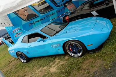 """Petty Garage 2009 Dodge Challenger SRT """"Superbird #1"""""""