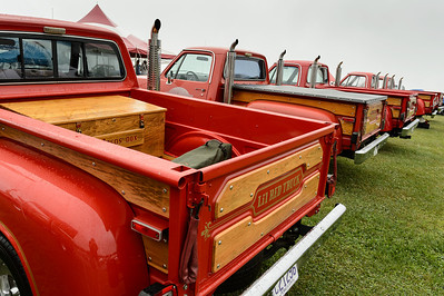 Lil Red Trucks at the Carlisle All-Chrysler Nationals