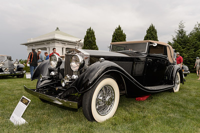 Donald Bernstein's 1933 Rolls-Royce Phantom II Continental Three-Position Drophead Coupe