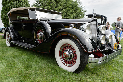 Frank and Loni Buck's 1934 Packard Twelve 1107 Phaeton