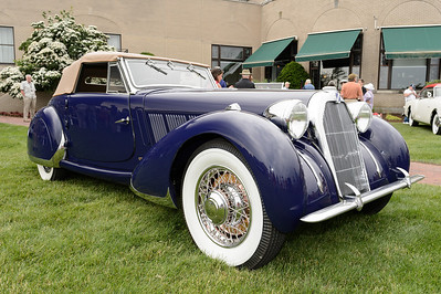 George Dragone's 1938 Talbot-Lago T-23 Drophead Coupe