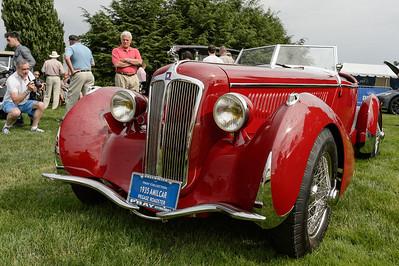 Malcolm Pray's 1935 Amilcar Pegase Roadster