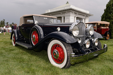 Morton Bullock's 1932 Packard 903 Deluxe Eight Coupe Roadster