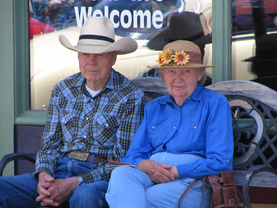 Buena Vista, Colorado Car Show Spectators!