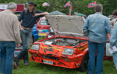 From the Basingstoke Motor Club stand