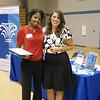 Senior Ashley and Alumni Bridget