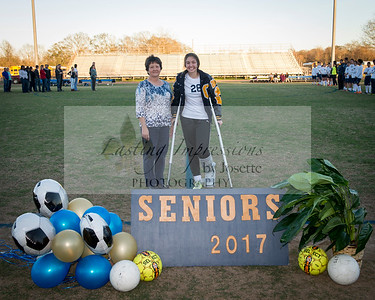 Carencro Soccer Senior night 2016-17