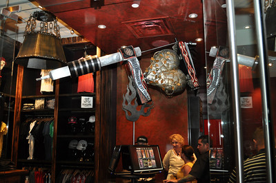 "DOWNLOAD PHOTOS FREE * Courtesy of ""IS Vodka"" *  www.ISVodka.com Motocross freestyle racer and Gravity Games Champion, inventor of the ""Hart Breaker"" and ""Superman Seat Grab"" Carey Hart has his own rock and roll club ""Wasted Space"" inside of Hard Rock Casino. Carey Hart also has a new tatoo palor Hart and Huntington inside Hard Rock Casino. Check out the big bore Carey Hart racing Honda motocross bikes in Hard Rock Lobby."