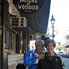 Barb and Teri at the House of Voodoo.