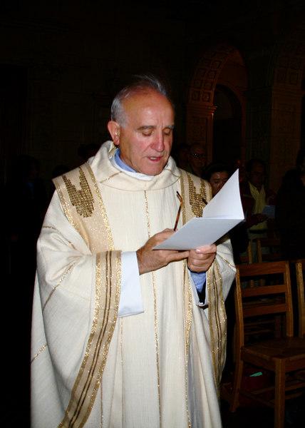 Father Luis Arostegui, Carmelite Vicar General