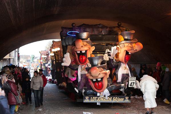 Carnaval 2012 zondagstoet