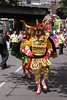 Parader at Carnival del Pueblo London 2009