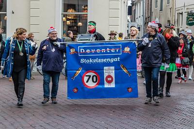 Carnavalsoptocht 2018 Stokvissengat (Deventer)