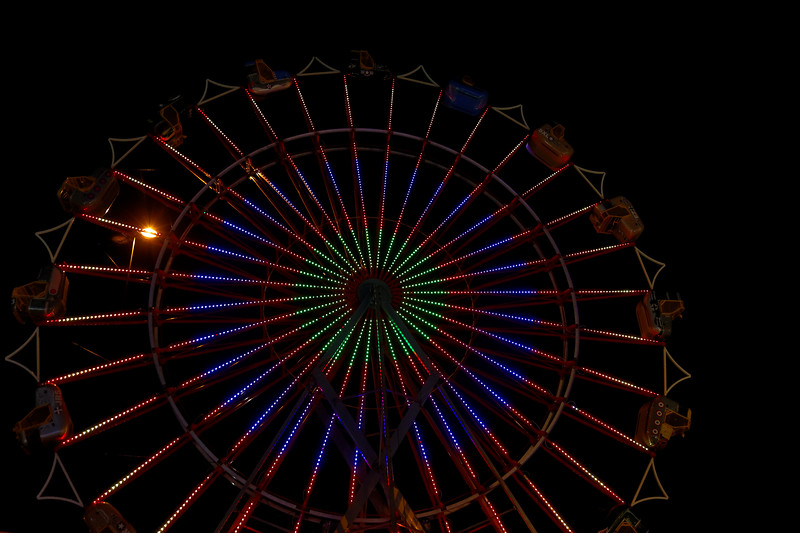 Carnival Lights in Elizabethtown, KY 6-3-17