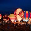 BalloonFest 2010, Statesville, NC - balloon glow