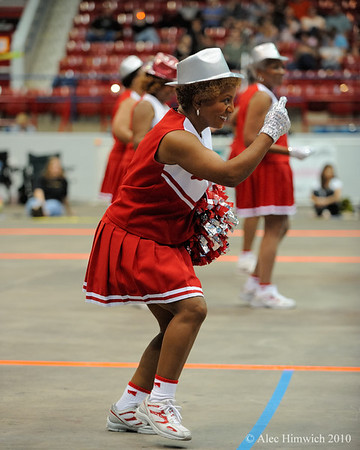 The Durham Divas, a team of middle aged cheerleaders, provided the halftime show for the Carolina Roller Girls match.<br /> <br /> Dorton Arena<br /> Raleigh, NC<br /> May 18, 2008<br /> <br /> <br /> <br /> Dorton Arena<br /> <br /> <br /> <br /> Raleigh, NC<br /> <br /> <br /> <br /> May 18, 2008