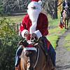 Santa riding in - 7