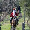 Santa riding in - 2
