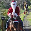 Santa riding in - 8