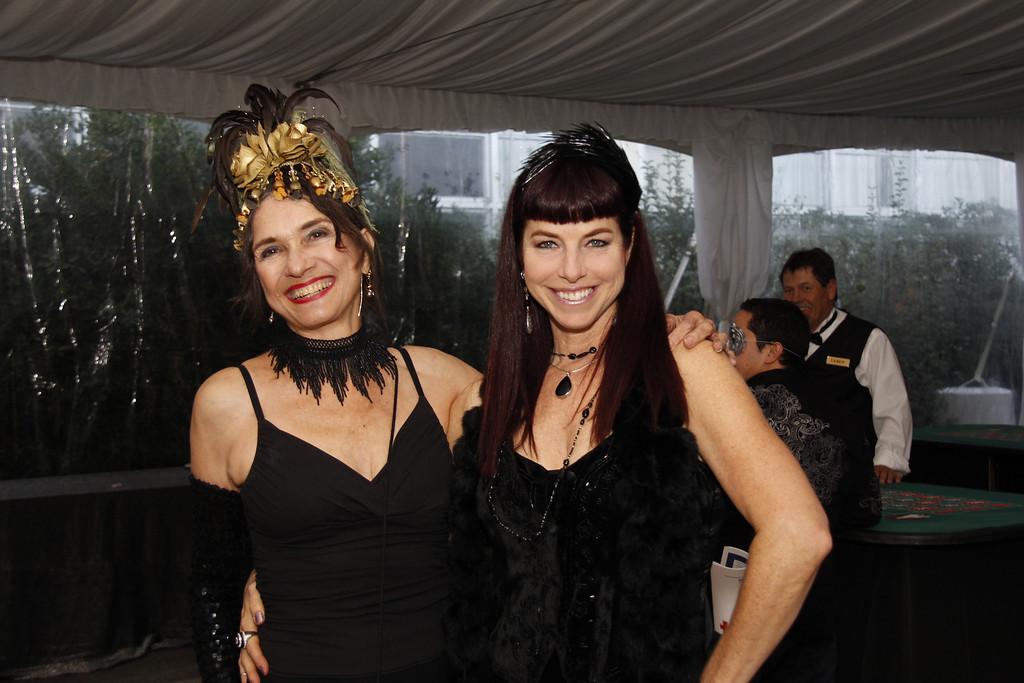 Suzanne Biaggi and Katherine rose.