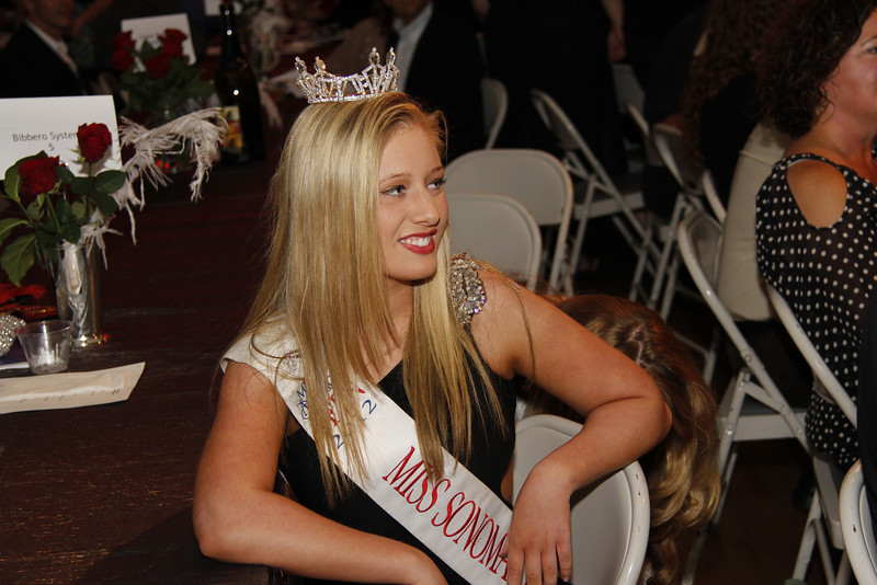 Miss Sonoma enjoying the event.