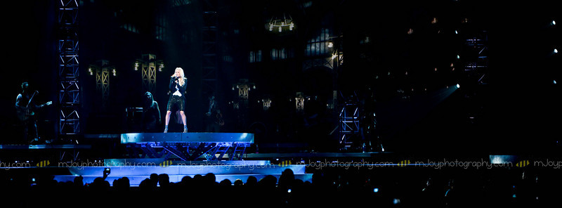 Panoramic of the stage Live Carrie Underwood | Fargo Dome | Fargo ND | 06.17.10