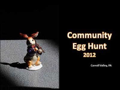 Carroll Valley Egg Hunt 2012