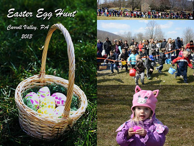 Carroll Valley Egg Hunt 2013