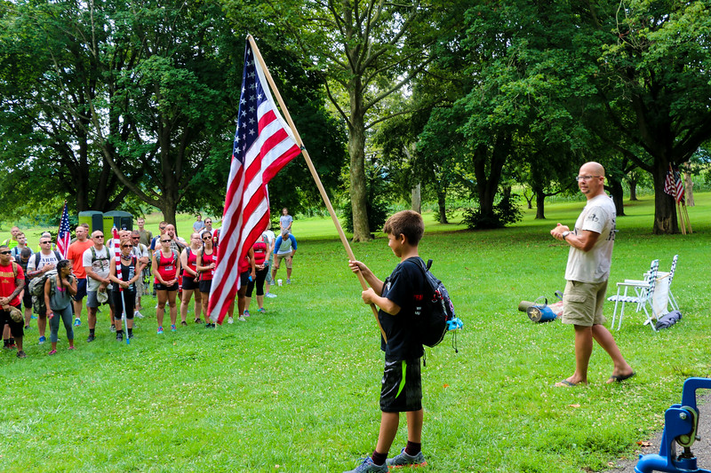 Alpha-To-Phillipsburg ruck march helps veterans' burdens