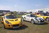 Lotus Elise at Silverstone Classic July 2012