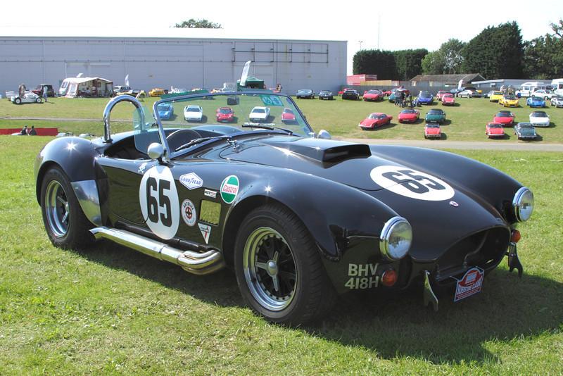 1969 AC Cobra at Silverstone Classic July 2012