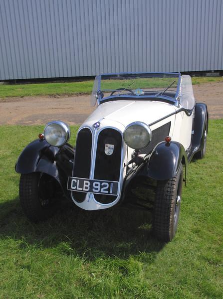 1935 Frazer-Nash BMW 315/40 Sports at Silverstone Classic July 2012