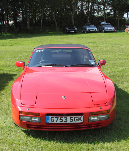 1989 Porsche 944 at Silverstone Classic July 2012