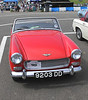 Austin Healey Sprite at Silverstone Classic July 2012