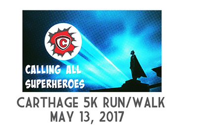 Carthage Superhero 5k 2017
