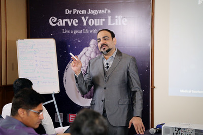 Carve your life Masterclass and MT Workshop by Dr Prem 44