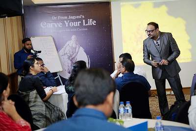 Carve your life Masterclass and MT Workshop by Dr Prem 2
