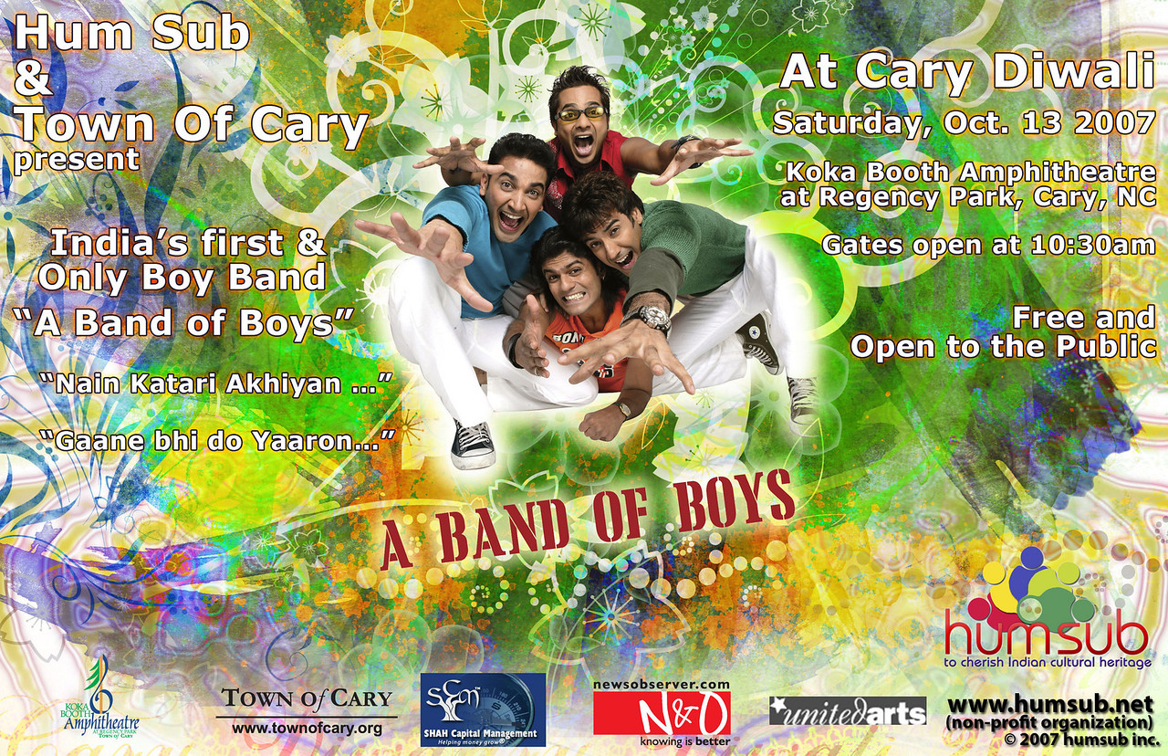 A Band of Boys Poster